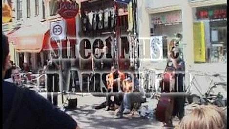 Street Music In Amsterdam August 2009