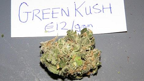 Green Kush from The Green Place