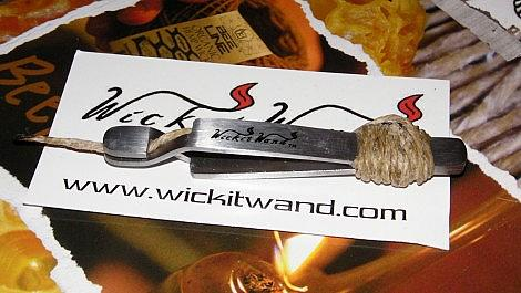 The NEW Wickit Wand (Beeline Hempwick) - Product Review