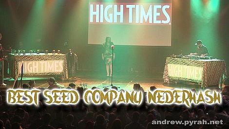 Best Seed Company Nederhash - Amsterdam Cannabis Cup Award Winners 2014