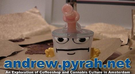 Bob The Glass Blower Master Shake Mini BHO Hash Oil Concentrate Rig