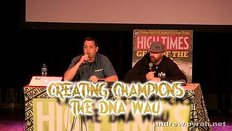 Creating Champions the DNA Way with Don & Aaron PART ONE - Amsterdam Cannabis Cup Seminar 2014