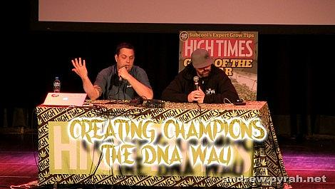 Creating Champions the DNA Way with Don & Aaron PART TWO - Amsterdam Cannabis Cup Seminar 2014