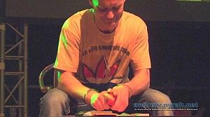 Handcuffed Joint Rolling Competition Amsterdam 420 Festival AMS420