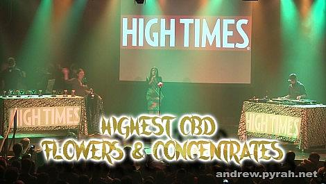 Highest CBD Flowers & Concentrates - Amsterdam Cannabis Cup Award Winners 2014