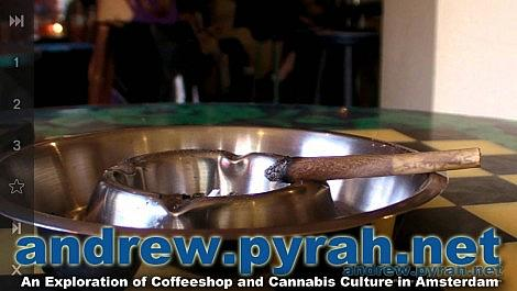 Homegrown Fantasy Coffeeshop - One Last Joint - Amsterdam Coffeeshop Tour 2014