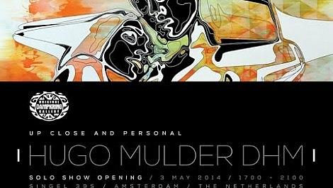 Hugo Mulder DHM Show Opening at the Orignal Dampkring Gallery Amsterdam
