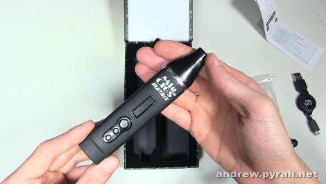 Mig Cigs Matrix Vaporizer Review (with Master Kush from Prix D'Ami) -  Amsterdam Weed Review 2015