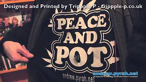 PEACE AND POT T SHIRTS!