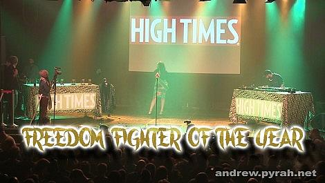 Robert Platshorn Freedom Fighter of the Year - Amsterdam Cannabis Cup Award Winners 2014