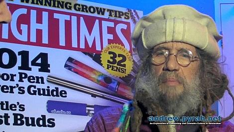 Soma (of Soma's Sacred Seeds) Talks About Making Ice Wax Hash - Cannabis Cup 2013 Amsterdam
