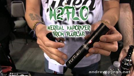 The FLYTLAB H2FLO Herbal Vaporizer - Amsterdam Weed Review 2015