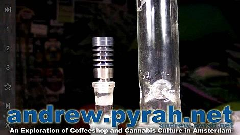 Universal Domeless Nail for BHO Hash Oil - Amsterdam Product Review