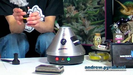 Volcano Vaporizer / Vapouriser - Amsterdam Product Review